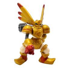 Digimon Gold Rapidmon Mini Figure 2 Inch PVC Digital Monster Vintage Bandai 2000
