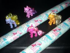 1 My Little Pony Gift Wrap Wrapping Paper Christmas Holiday Snowflake 2 Pony's