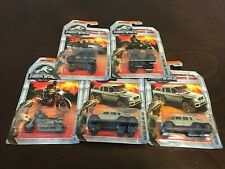 MATCHBOX Jurassic World Vehicles Lot of 6, New in Box