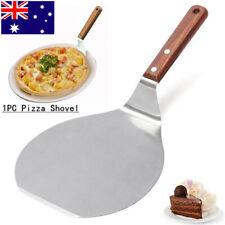 1PC Stainless Steel Pizza Peel Shovel Spatula Cake Lifter Paddle Baking Tray