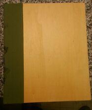 Exposures Brand Photo Album 10.5 x 12.5 Scrapbook Wood Bindings