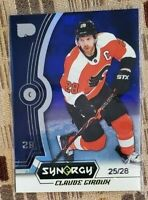 Claude Giroux 2018-19 Upper Deck Synergy Purple /28 #14 FREE SHIPPING NICE CARD