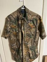 Mens Camo 100/% Polyester Hunting Zone Shirt Short Sleeve Brand New HS2