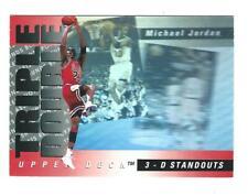 1993-94 Upper Deck Triple Double #TD2 Michael Jordan Bulls