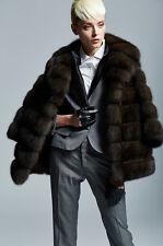 Sable Fur Coat Zobel Pelzmantel  Zibeline
