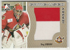 2005 05-06 ITG Heroes and Prospects Jerseys Gold #GUJ19 Ray Emery /10