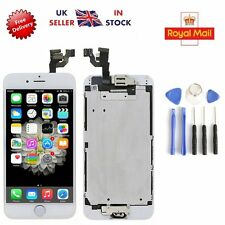 """Replacement Digitizer Home Button Camera for White iPhone 6 4.7"""" Touch Screen"""