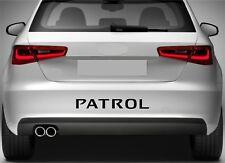 PARACHOQUES TRASERO Pegatinas Apto Para Nissan Patrol ADHESIVO DE VINILO