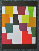 AGAM - THE ABSTRACT SOLUTION - ORIGINAL LITHOGRAPH - 1980 - FREE SHIP IN US !!!
