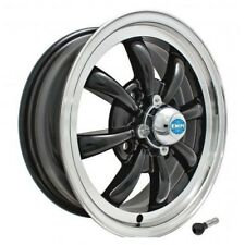 "VW MAGGIOLINO BEETLE KARMANN CERCHIO LARGO 5,5 WIDE WHEEL 15"" JANTE EMPI GT-8"