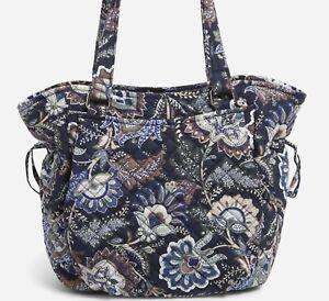 Vera Bradley Iconic Glenna Women's Satchel Bag - Java Navy Camo