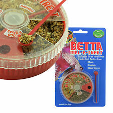 Zoo Med Betta Dial-A-Treat (Mysis/Daphnia/Blood Worm) Freshwater Betta Fish Food