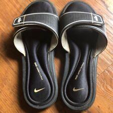Nike Women's Black Slides Size 8