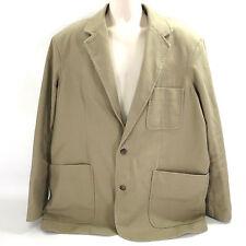 Duluth Trading 2XL Fire Hose Presentation Desert Khaki Mens Jacket 11 Pockets