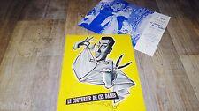 fernandel LE COUTURIER DE CES DAMES ! rare  dossier presse cinema 1956