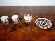 Lot de quatre petites Céramiques Basque CIBOURE
