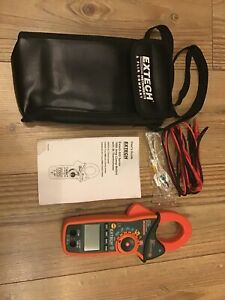 EXTECH INSTRUMENTS - EX820 - CLAMP METER + IR THERMOMETER