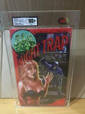 Night Trap Ps4 Collectors Edition Ukg Graded 90+ Mint Not Vga