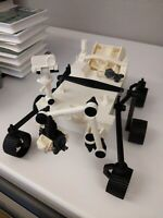 3d printed NASA Mars Rover 2021 Perseverance 259mm x 170mm (40 parts)