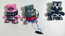 Kidrobot spray paint figures