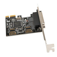 PCI express to 2 Serial RS232+1 Parallel Port PCIe I/O Card MosChip MCS 9901