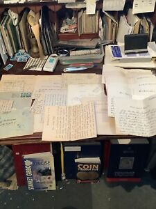 Collection Of Old WW2. German. Field Post Letters/ Material / Documents. 1940s