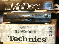 Technics SJ-MD100 Hifi-Stereo MD-Recorder+Player