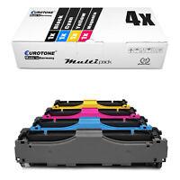 4x Eurotone ECO Toner XXL für HP Color LaserJet Pro MFP M-477-fdw MFP M-477-fdn