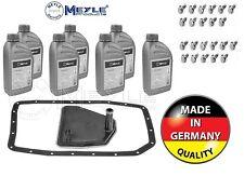 BMW X5 E53 E70 AUTOMATIC GEARBOX TRANSMISSION SUMP PAN & OIL MEYLE x 7