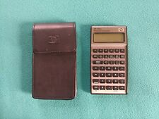 HP 17bII+ Financial Calculator, 22-Digit LCD - Case and Fresh Batteries Included