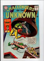 DC CHALLENGERS OF THE UNKNOWN #46 1965 VG+ Vintage Comic