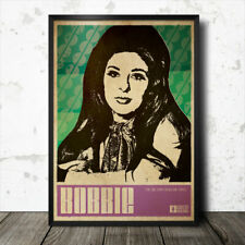 Bobbie Gentry Country Music Art Poster Dolly Parton Glen Campbell