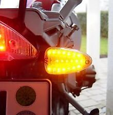 PAIR OF LED INDICATORS BOARDS BMW R1200GS K1200S K1300 F800R ROAD LEGAL