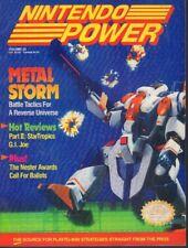 Nintendo Power Magazine Metal Storm & G.I. JOe March 1991 021318nonr