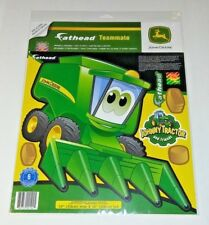 John Deere Cartoon Combine Teammate Fathead Peel & Stick Wall Decal