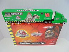 Bobby LaBonte #18 Interstate Batteries Jurassic Park III Nascar Diecast Hauler