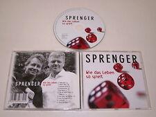 SPRENGER/WIE DAS LEBEN SO SPIELT(EDEL 0198600MPS) CD ALBUM