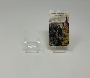 Acrylic Display Easel Stands Picture Frame Book Sign Business Card Riker Case