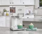 Ice Cream Maker Soft Serve Countertop Automatic Yogurt Freezer Machine photo
