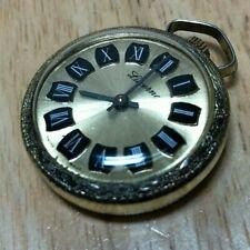 Vintage Lucerne Art Deco Ornate Hand-Winding Necklace Pendant Pocket Watch Hours