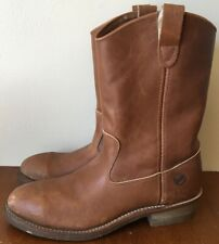 Helly Hansen Leather Boots w/ Safety Toe Size 10 Slip on
