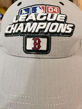 New Era League Champions Boston Hat Cap 2004 Reverse The Curse Year- NEVER WORN