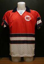 Norway Hummel Home Shirt Match Worn 1988