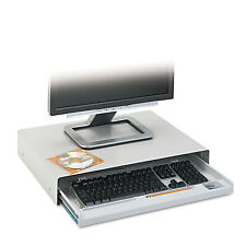 Innovera Standard Desktop Keyboard Drawer 20-5/8w x 10d Light Gray 53001