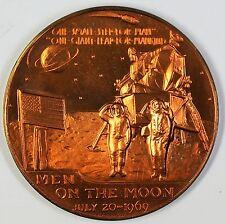 Apollo XI Bronze Medal Men On The Moon 1969 Aldrin Armstrong Collins