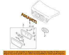 KIA OEM 04-06 Amanti Trunk Lid-Emblem Badge Nameplate 863113F020