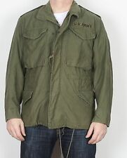 """M65 US Army Field Jacket Small Short 34'' 36"""" 38"""" Green (4AM) 1980"""