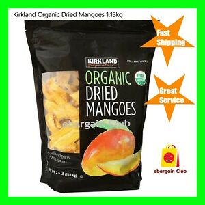 Kirkland Organic Dried Mangoes 1.13kg Mango USDA eBC