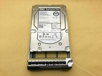 "Dell EQL 02R3X 002R3X 600GB 15K RPM 6Gb/s 3.5"" SAS HDD Hard Drive W Tray"