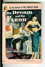 THE DREAM AND THE FLESH by Connell rare US Lion crime sleaze gga pulp vintage pb